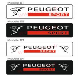Cache plaque Peugeot A