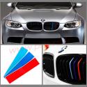 BMW Bande de calandre 3 couleurs 20cmX3