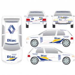 Kit déco Clio 1 DIAC