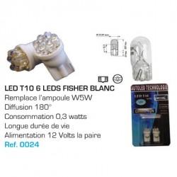 Ampoule Led T10 W5W Blanc
