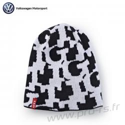 Bonnet réversible VOLKSWAGEN GTI noir et blanc
