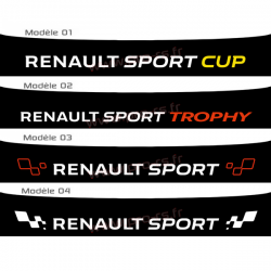 Bandeau pare soleil Renault Sport 2016 Type 2