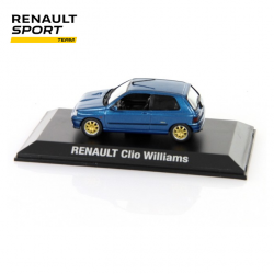 Miniature RENAULT SPORT Clio Williams 1/43 - Rallye