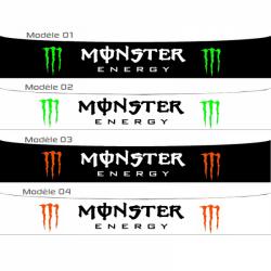 Bandeau pare soleil Monster et Red Bull