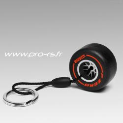Porte clés PIRELLI Pzero Pneu Extra-tendre rouge - Formule 1