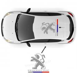Stickers de toit Peugeot Sport D 2016