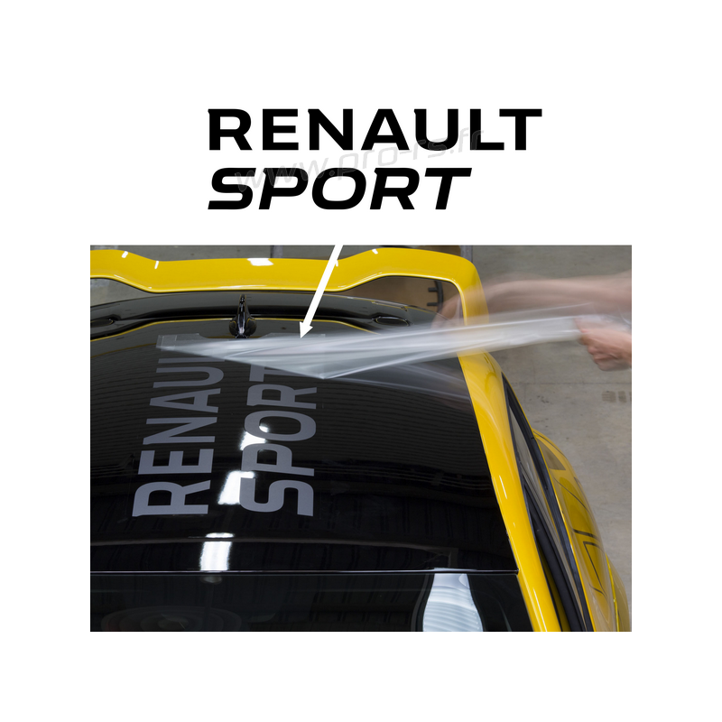 stickers de toit renault sport rs16. Black Bedroom Furniture Sets. Home Design Ideas