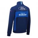 Sweat zippé FORD Team bleu pour homme - Endurance