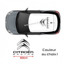 Stickers de toit Citroën Racing 60cm