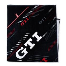 Serviette de bain VOLKSWAGEN GTI noire - Sportswear
