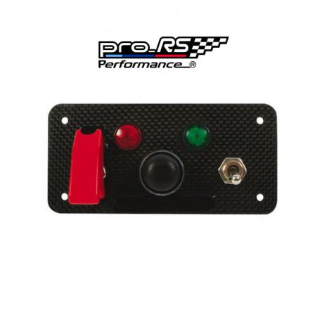 Panneau Starter Pro modèle carbone véritable  Pro-RS Performance