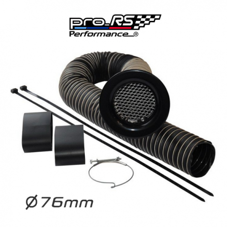 Kit pour admission d'air 76mm Pro-RS Performance