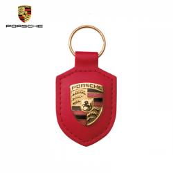 Porsche Porte-clés écusson Rouge