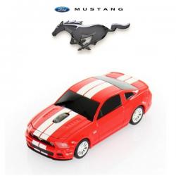 Souris d'ordinateur optique sans fil FORD Mustang GT rouge