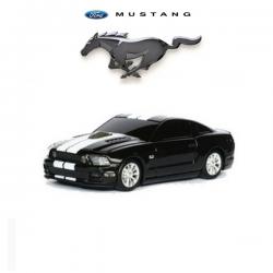 Souris d'ordinateur optique sans fil FORD Mustang GT noir