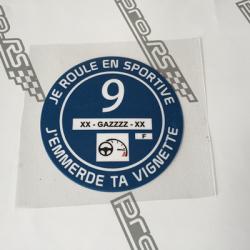 Sticker OSEZ JOSE Président 2017