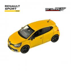 Miniature RENAULT SPORT CLIO IV RS échelle 1/43 jaune