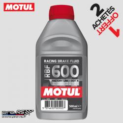 Liquide de freins MOTUL RBF 600 DOT 4 miscible