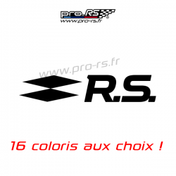 Sticker Renault RS16 type Clio 4 R.S. 16