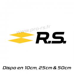 Sticker Renault RS 17bicolor 12cm