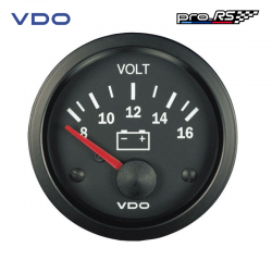 Voltmètre VDO Cockpit Vision 8-16 V
