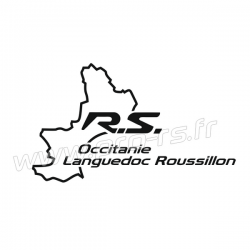 Sticker RS Languedoc Roussillon