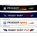 Bandeau pare soleil Peugeot Sport collection 2016