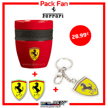 Pack Fan Ferrari