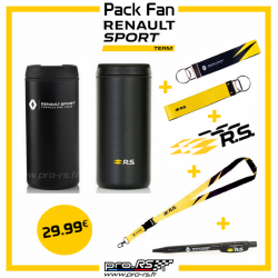 Pack Fan Renault Sport