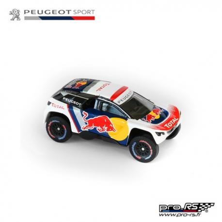 Peugeot Sport 2008DKR radiocommandée 1/18