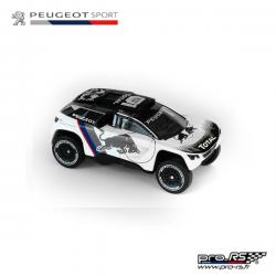 Peugeot Sport 3008 DKR17 - 3 INCHES- BLACK