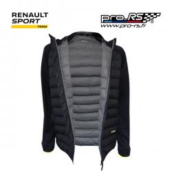 Doudoune RENAULT SPORT RS noire pour homme - Formule 1