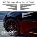 Kit 2 Stickers Clio RS 18