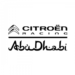 Sticker Citroën Racing Haut