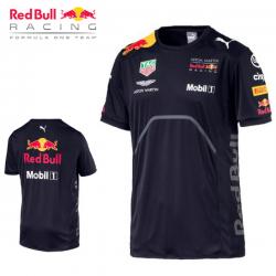 T-shirt RED BULL Team bleu pour homme - Formule 1