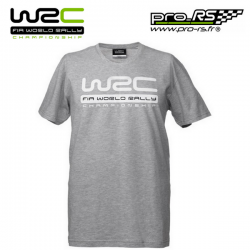 T-shirt WRC Logo gris pour homme - Rallye