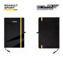 Bloc notes RENAULT SPORT RS Logo noir