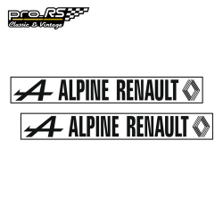 Kit 2 Stickers Alpine Renault