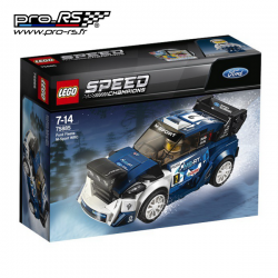 Jeu de construction LEGO Speed champions Ford fiesta WRC M-Sport