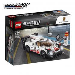 Jeu de construction LEGO Speed champions Porsche 919 hybrid