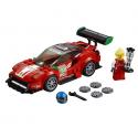 Jeu de construction LEGO Speed champions Scuderia corsa Ferrari 488 GT3