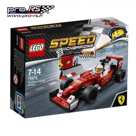 Jeu de construction LEGO Speed champions Scuderia Ferrari SF16-H