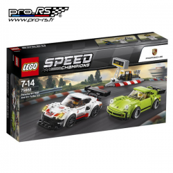 Jeu de construction LEGO Porsche 911 RSR et 911 Turbo 3.0