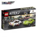 Jeu de construction LEGO Porsche 911 RSR et 911 Turbo 3.0