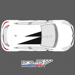 Kit Stickers de toit type Clio RS 18