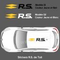 Stickers de toit Renault Sport R.S.