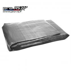 Bâche de sol REDSPEC 170 g/m² 6 x 3,7 m grise - Compétition