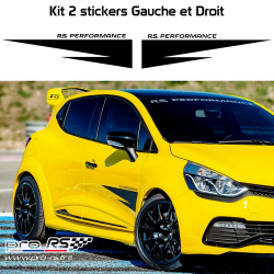 Kit 6 Stickers Citroen Racing
