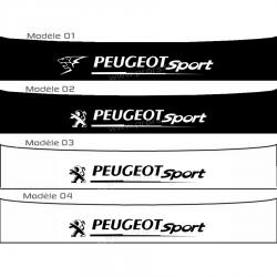 Bandeau pare soleil Peugeot Sport C