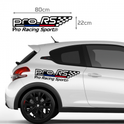 Stickers Officiel Pro-RS 60cm
